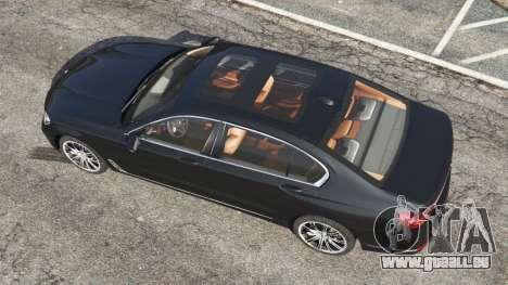 GTA 5 BMW 750Li 2016 Rückansicht