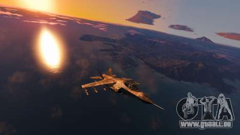 GTA 5 Coloration de Camouflage Hydra deuxième capture d'écran