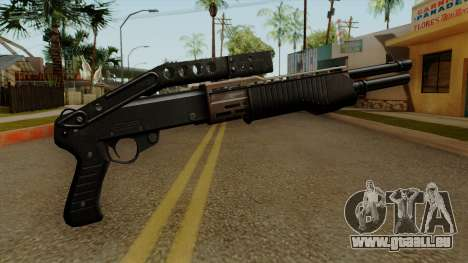 Original HD Combat Shotgun pour GTA San Andreas deuxième écran