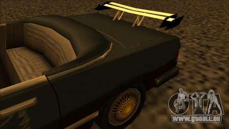 FreeShow Feltzer pour GTA San Andreas vue arrière