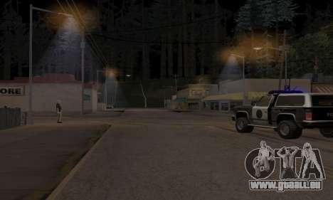 Lamppost Lights v3.0 pour GTA San Andreas deuxième écran