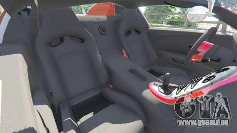 GTA 5 Bugatti Veyron Grand Sport rechte Seitenansicht