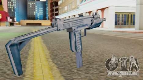 IMI Uzi v1 SA Style für GTA San Andreas zweiten Screenshot