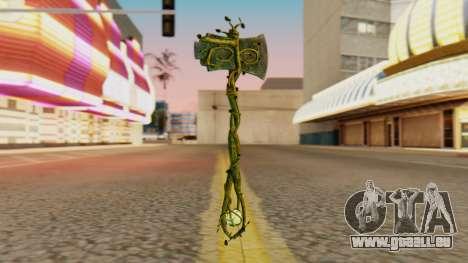 Nature Axe für GTA San Andreas zweiten Screenshot