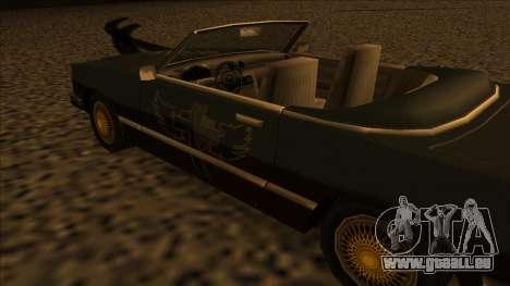 FreeShow Feltzer pour GTA San Andreas vue de droite