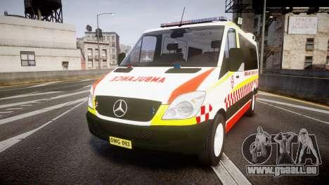 Mercedes-Benz Sprinter NSW Ambulance [ELS] für GTA 4