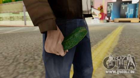 Concombre pour GTA San Andreas deuxième écran