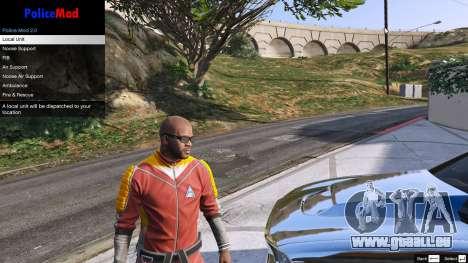 GTA 5 PoliceMod 2 2.0.2 troisième capture d'écran