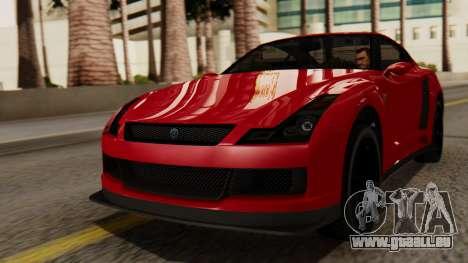 GTA 5 Annis Elegy RH8 IVF pour GTA San Andreas