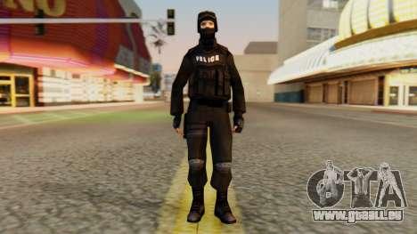 Geändert SWAT für GTA San Andreas zweiten Screenshot