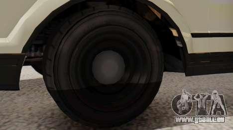 GTA 5 Albany Esperanto Police Roadcruiser IVF für GTA San Andreas zurück linke Ansicht