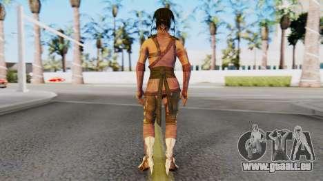 [MKX] Mileena pour GTA San Andreas troisième écran