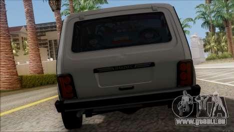 VAZ Niva 2121 BUFG Édition pour GTA San Andreas vue de droite