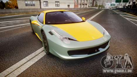 Ferrari 458 Italia Novitec Rosso 2012 pour GTA 4