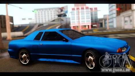 New Elegy by HEPBEH für GTA San Andreas zurück linke Ansicht