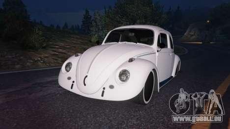 GTA 5 Volkswagen Beetle volant