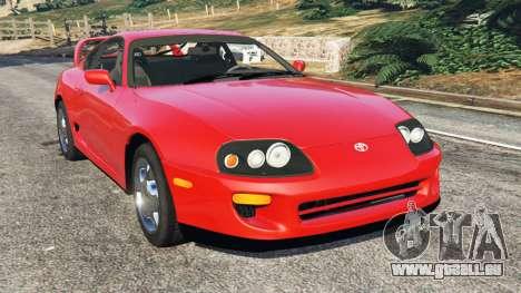 Toyota Supra RZ 1998 pour GTA 5