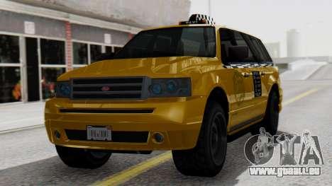 Vapid Landstalker Taxi SR 4 Style pour GTA San Andreas