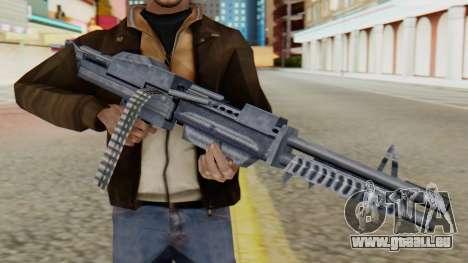 M60 pour GTA San Andreas troisième écran