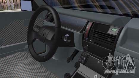 Renault 11 Tuning pour GTA San Andreas sur la vue arrière gauche