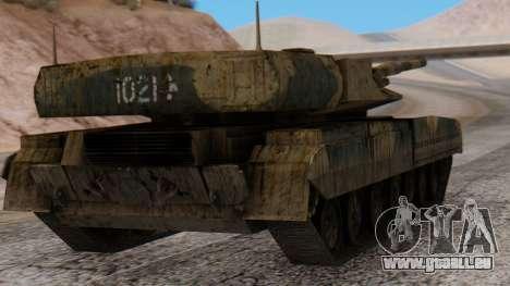 T-95 from Arctic Combat für GTA San Andreas linke Ansicht