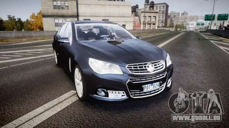 Holden VF Commodore SS Unmarked Police [ELS] pour GTA 4