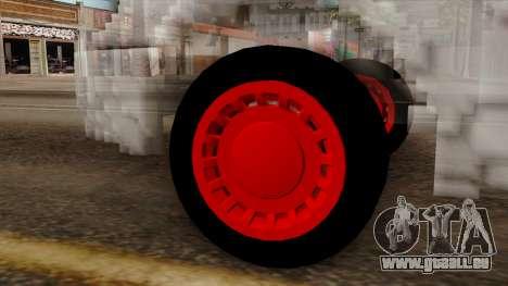 Kerdi Design Washington Crystals pour GTA San Andreas sur la vue arrière gauche