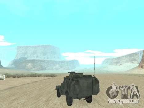 L'APC 40 pour GTA San Andreas laissé vue