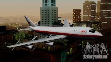 Boeing 747 TWA für GTA San Andreas