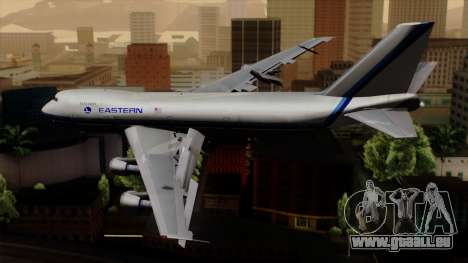 Boeing 747 Eastern für GTA San Andreas linke Ansicht