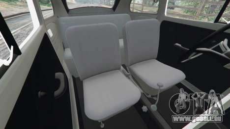 Volkswagen Beetle pour GTA 5