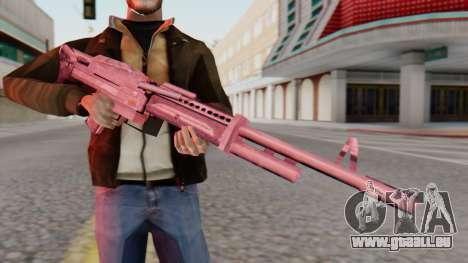 M60 SA Style pour GTA San Andreas troisième écran