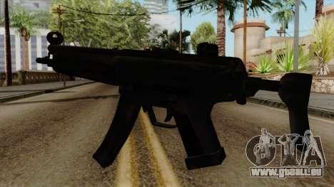 Original HD MP5 pour GTA San Andreas deuxième écran