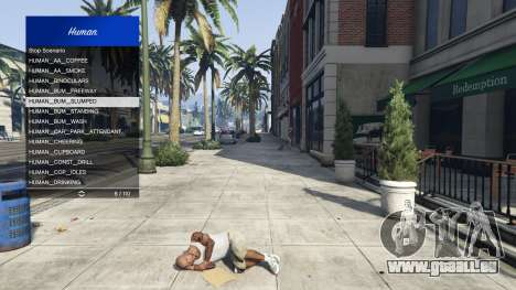 GTA 5 Scenario Menu 1.1 sechster Screenshot