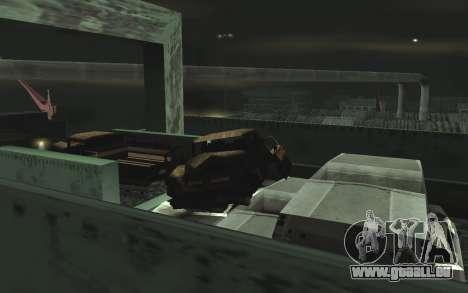 Automobile dépotoir v0.1 pour GTA San Andreas huitième écran