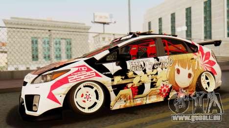 Toyota Prius JDM 2011 Itasha pour GTA San Andreas