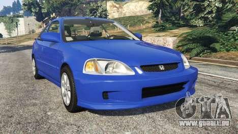 Honda Civic Si 1999 für GTA 5