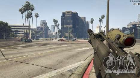 GTA 5 Battlefield 3 G36C v1.1 achten Screenshot