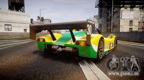 Radical SR8 RX 2011 [30] für GTA 4 hinten links Ansicht