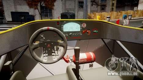 Radical SR8 RX 2011 [2] für GTA 4 Rückansicht