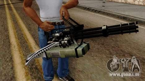 Original HD Minigun für GTA San Andreas dritten Screenshot