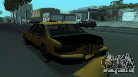 New Taxi pour GTA San Andreas roue