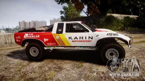 Karin Ensenada für GTA 4 linke Ansicht