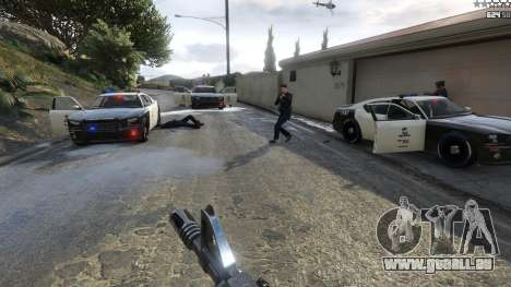 GTA 5 Bad Cops LSPD Livery 1.1 vierten Screenshot
