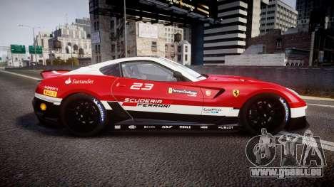 Ferrari 599XX 2010 Scuderia Ferrari pour GTA 4 est une gauche