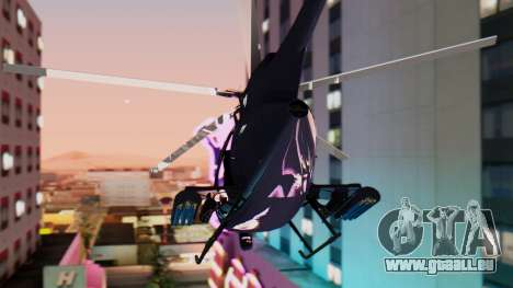 GTA 5 Buzzard für GTA San Andreas linke Ansicht