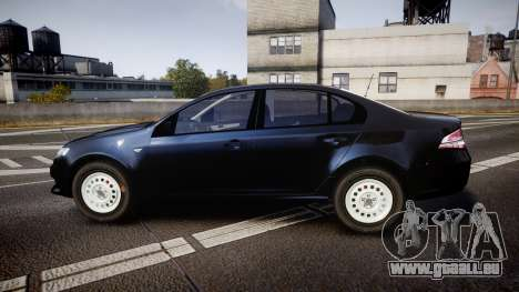 Ford Falcon FG XR6 Unmarked NSW Police [ELS] pour GTA 4 est une gauche