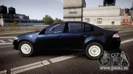 Ford Falcon FG XR6 Unmarked NSW Police [ELS] für GTA 4 linke Ansicht