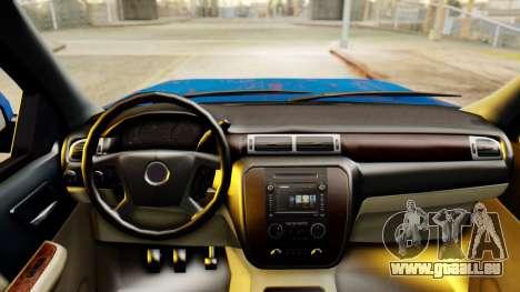 Chevrolet Silverado 2010 TLoU Edition für GTA San Andreas rechten Ansicht