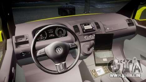 Volkswagen Transporter Norwegian Ambulance [ELS] für GTA 4 Rückansicht